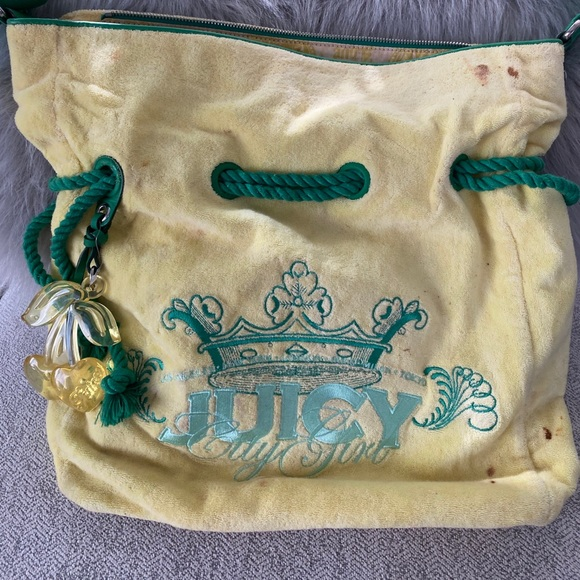 Juicy Couture Juicy City Girl Large Satchel Bag
